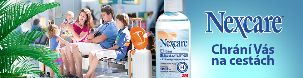 Dezinfekční gel na ruce – 3M Nexcare