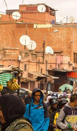 Life in Marrakesh's medina