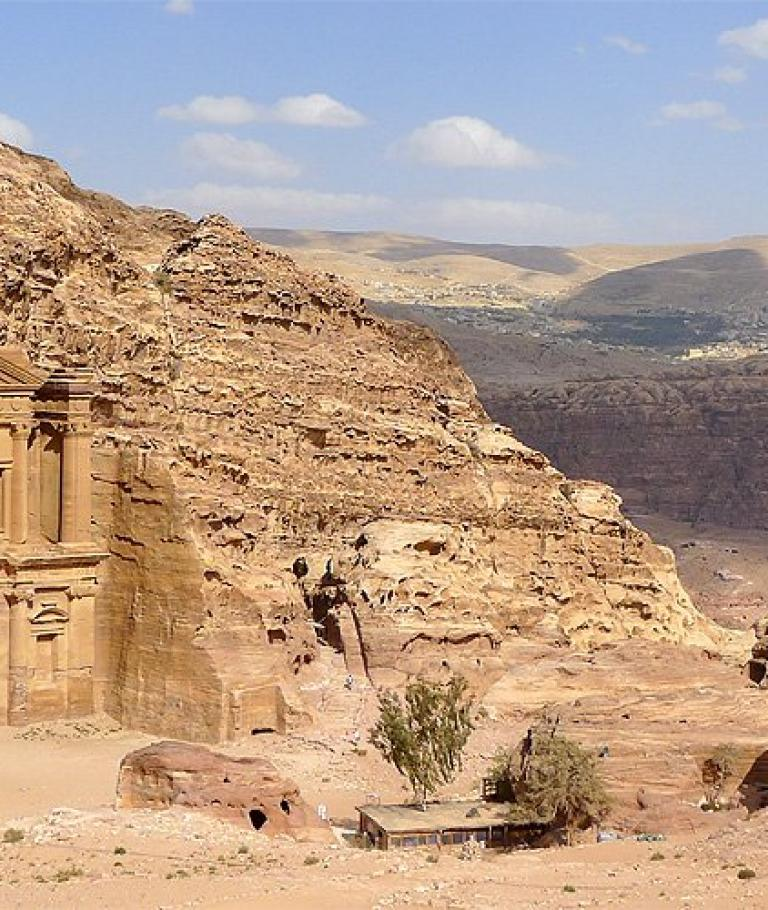 Ascent to the Monastery (Ad-Deir)