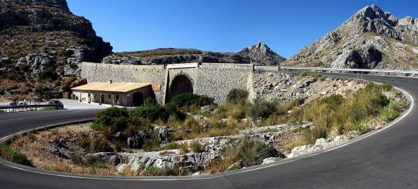 The way to Sa Calobra