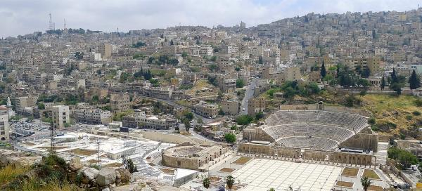 Visit of historic center of Amman