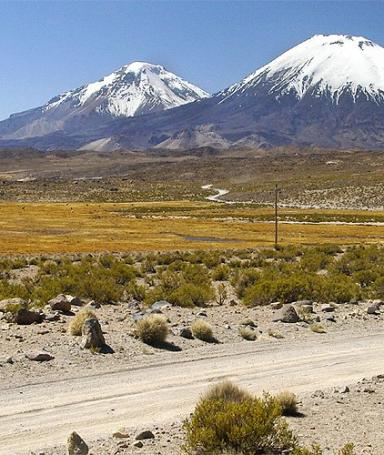 Walk around the village of Parinacota