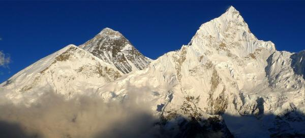 The highest mountains in the world