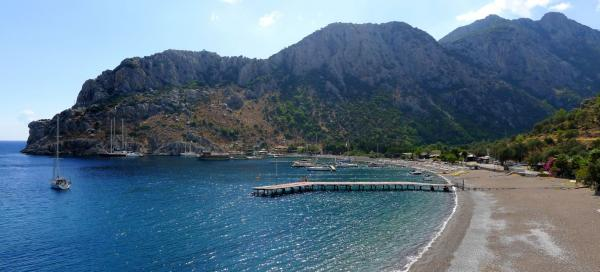 The most beautiful beaches in Marmaris area