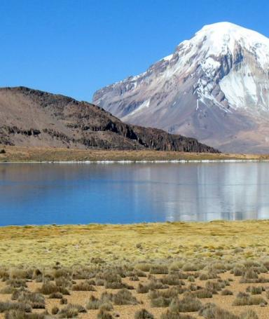 The most beautiful lakes of Bolivia