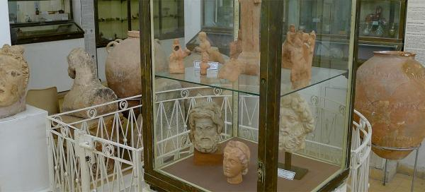 Visit of Archaeological museum in Amman