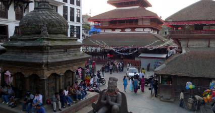 Durbar square at Kathamndu
