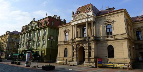 Masaryk theater and hotel Prague