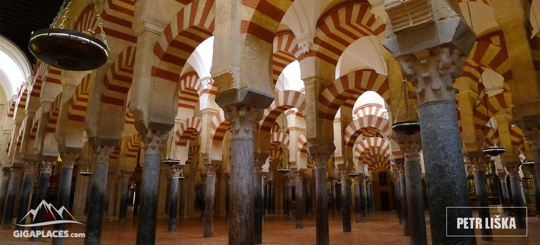 visit of cathedral mosque in cordoba combination of two styles in