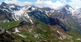 The highest alpine road passes