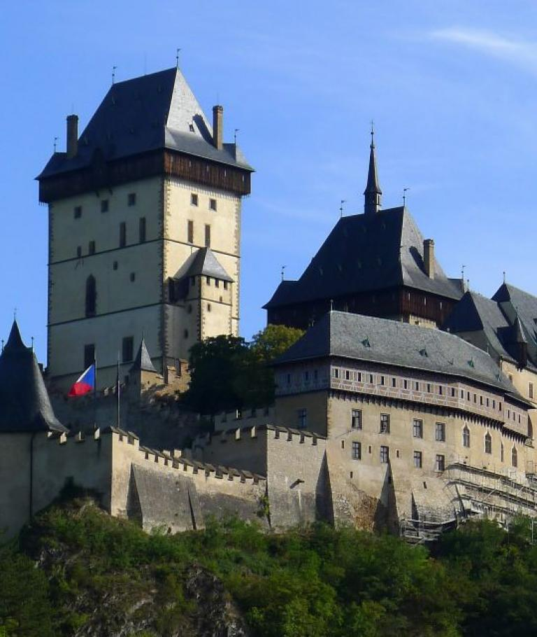 The most beautiful castles of the Czech Rep.