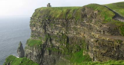 Útesy Cliffs of Moher