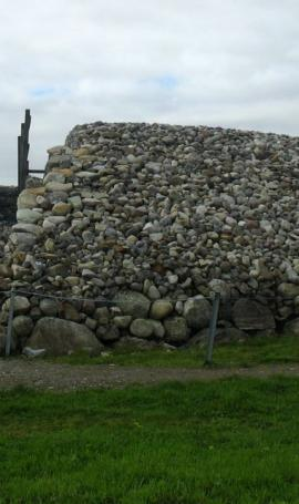 Megalitic place Carrowmore
