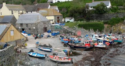 Fishing village of Cadgwith
