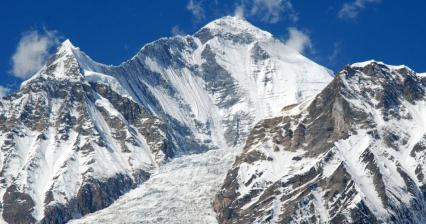 Famous view of Dhaulagiri