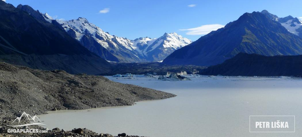 Lake of the Tasman glacier
