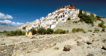 Thiksey Gompa Monastery