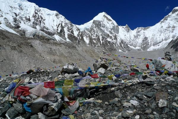 Relax in Everest Base Camp