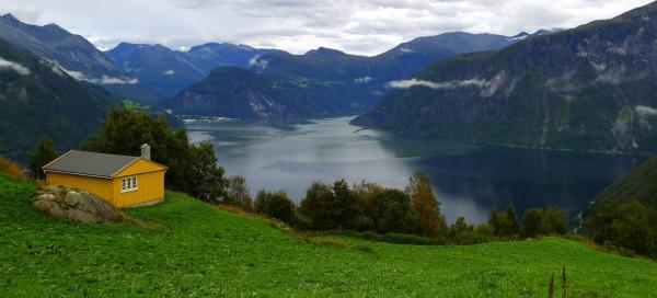The fjords of West Norway