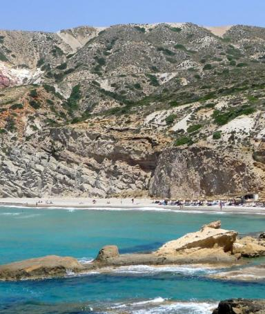 The most beautiful beaches of the Milos