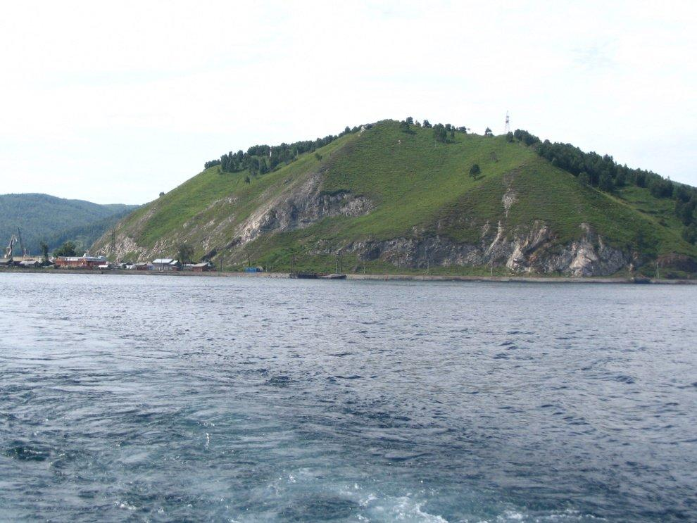 Port-Baikal with an outlook hill