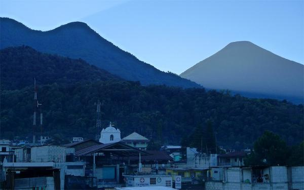 Volcanoes Toliman and Atitlan