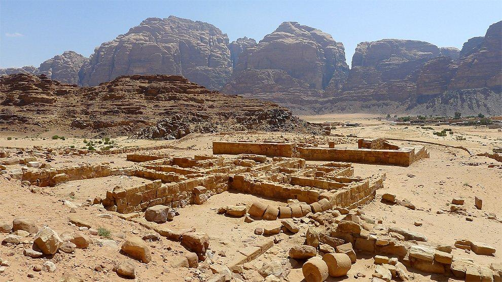 View from the Nabatean Temple