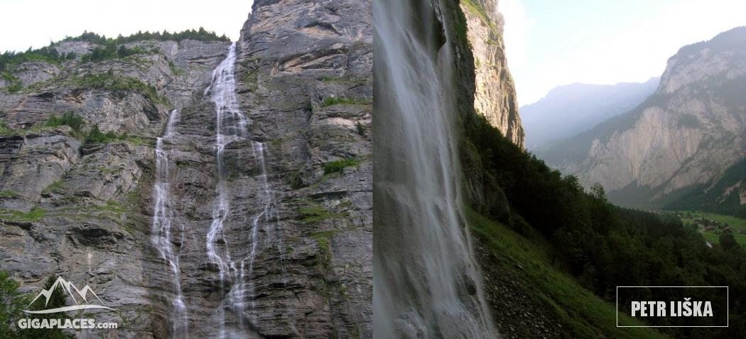 Mürrenbachfall Waterfall