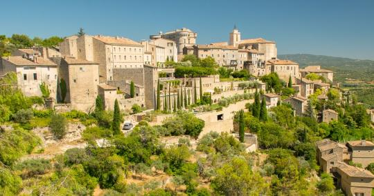 The most beautiful places of Provence
