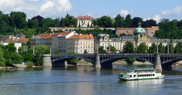 Boat cruises on the Vltava river
