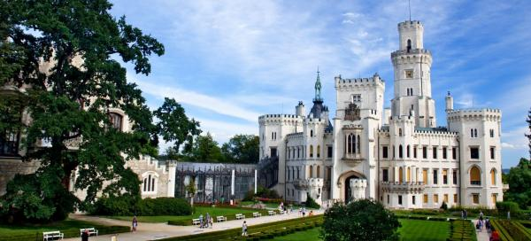 The TOP chateaux in the Czech Republic
