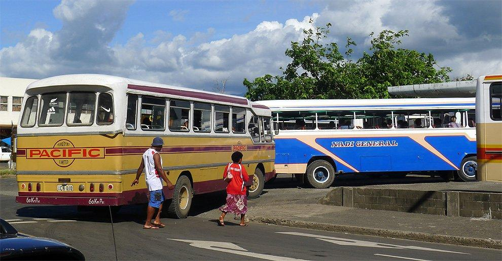 The bus station in Lautoka