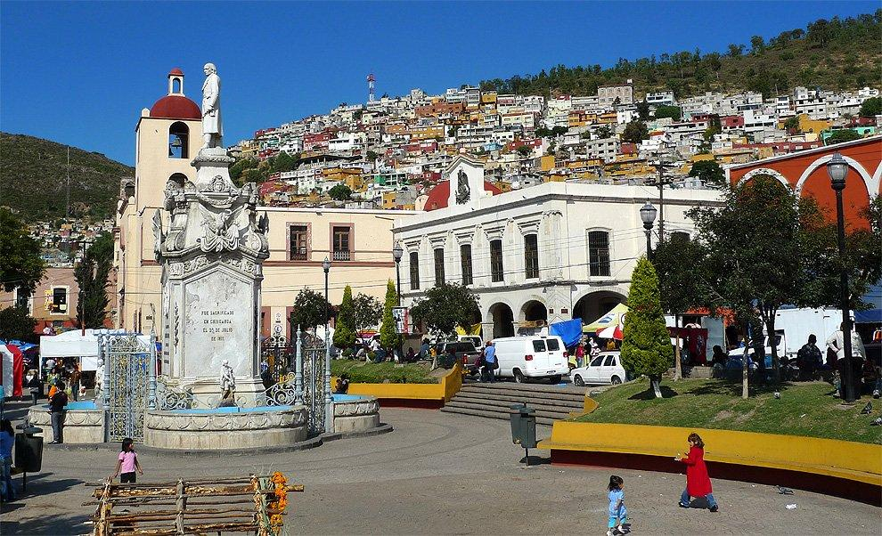Square in Pachuca