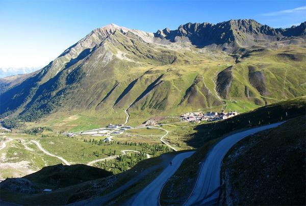 View of the pass