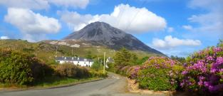 Výstup na Mount Errigal