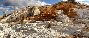 Mammoth Hot Springs - Travertiny