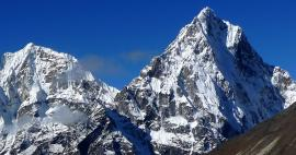 The highest mountains of Nepal