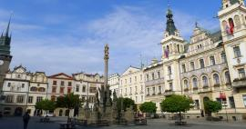 The most beautiful squares in Czech Republic