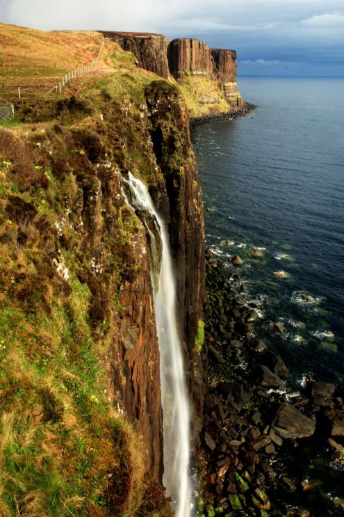 Kilt Rock s Mealt Waterfall