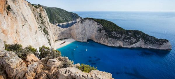 Attractions of the island of Zakynthos