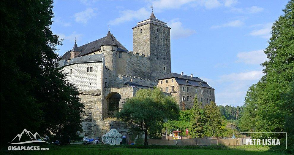 Walk Around The Castle Kost Castle Situated In A