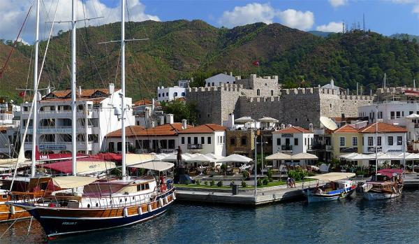 Castle in Marmaris