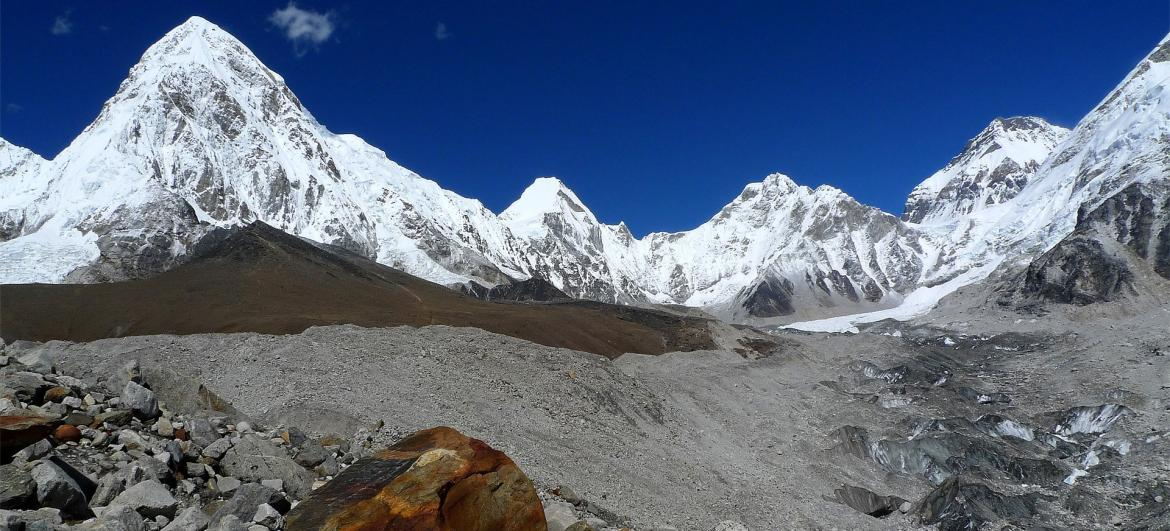 Khumbu - oblast Everestu
