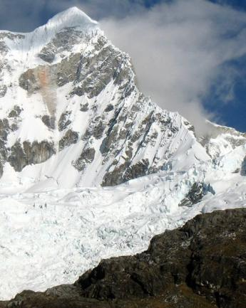The highest mountains of South America