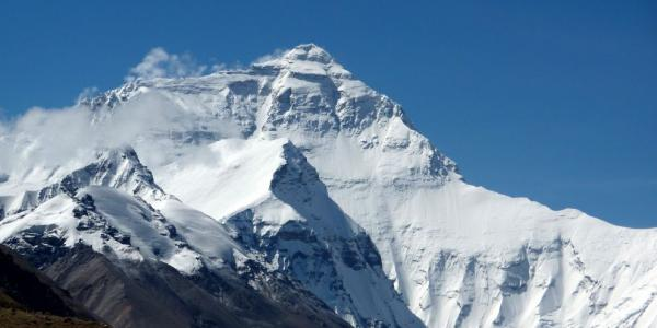 Everest from the Tibetan side