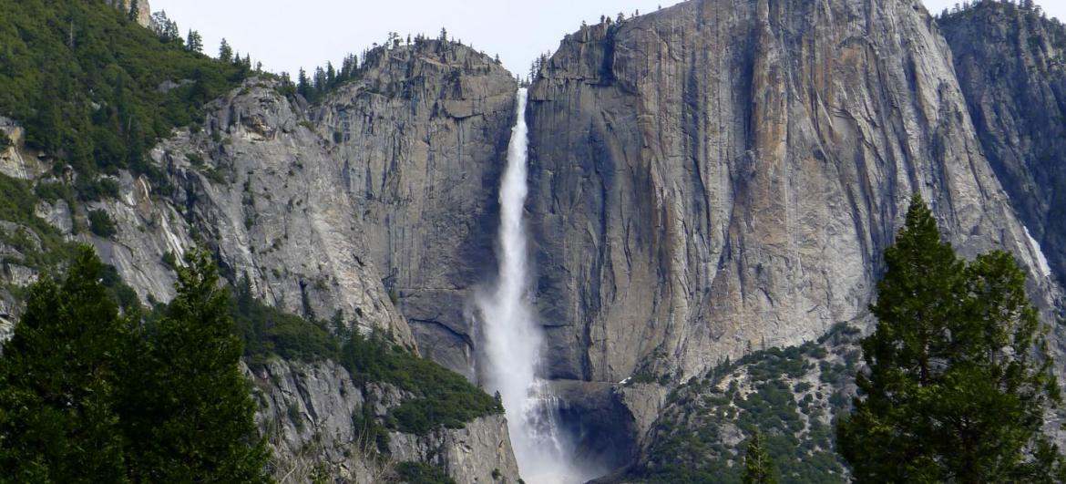 The most beautiful waterfall in North America