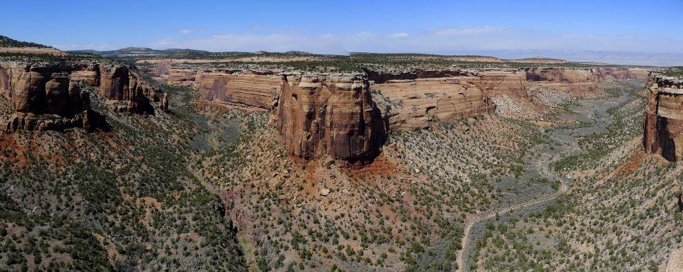 Red Canyon Overlook Panorama