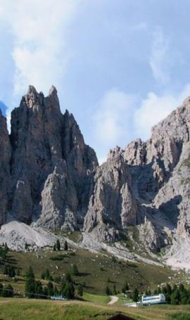 The most beautiful Dolomite passes