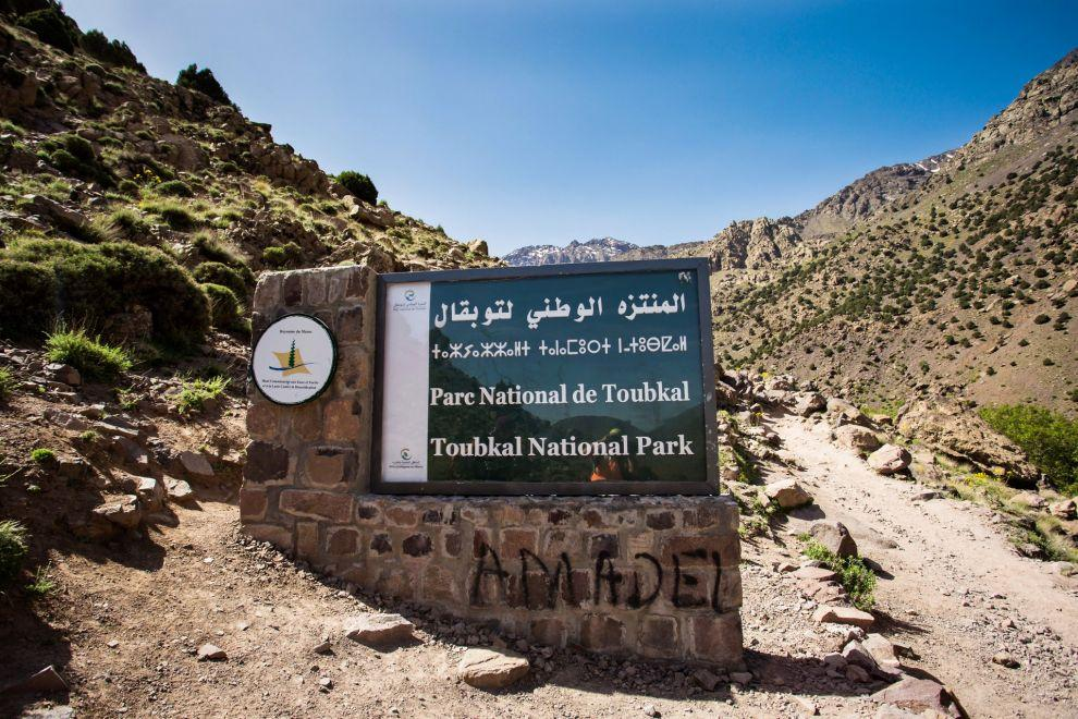 Vstup do Toubkal National Park