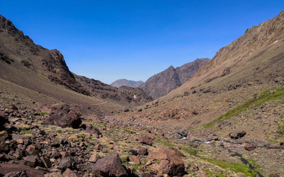 National park Jebel Toubkal